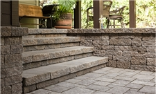 Appalachian Stones, Column, Steps and Risers