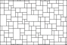 Hatch patterns Pavers